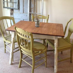 Antique Kitchen Tables And Chairs