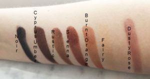 Soft Glam Swatches