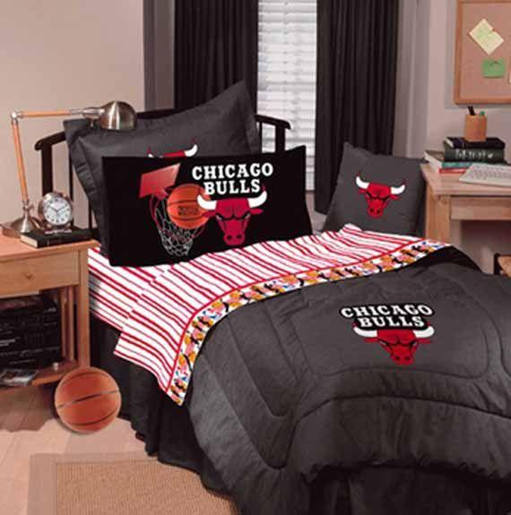 Image Detail for - Chicago Bulls Basketball Junior Bedroom Interior Design | Beautiful ...