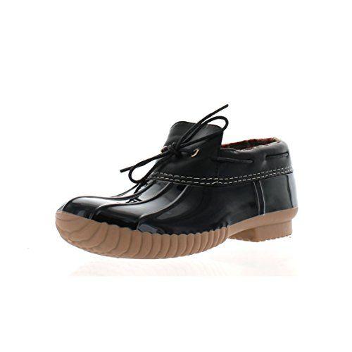 Cape Robbin Muriel-2 Women's Duck Shoe Low Ankle With Tie…