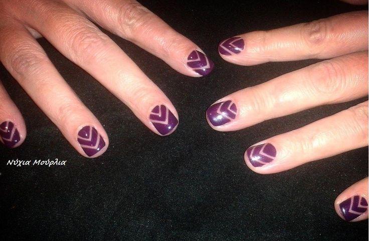 Manicure~nailart~handmade nails