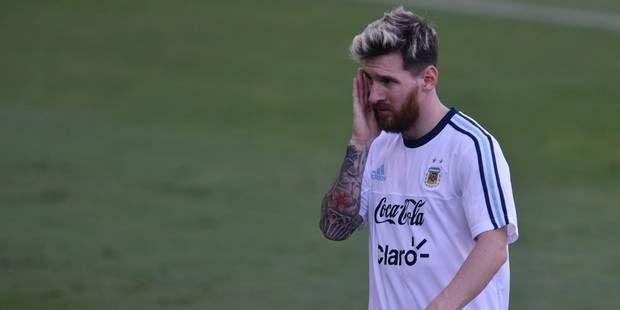 Le curieux tatouage flambant neuf de Messi (PHOTOS)