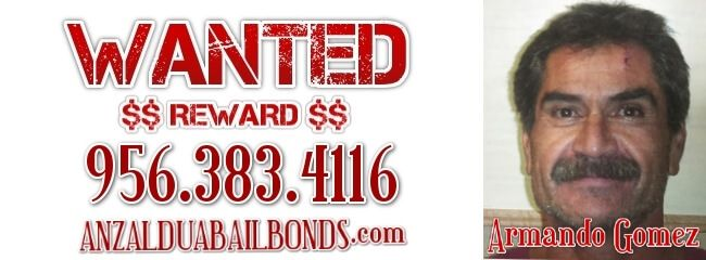 Armando Gomez Wanted Failure to Appear - http://anzalduabailbonds.com/wanted/armando-gomez-wanted-failure-to-appear.php
