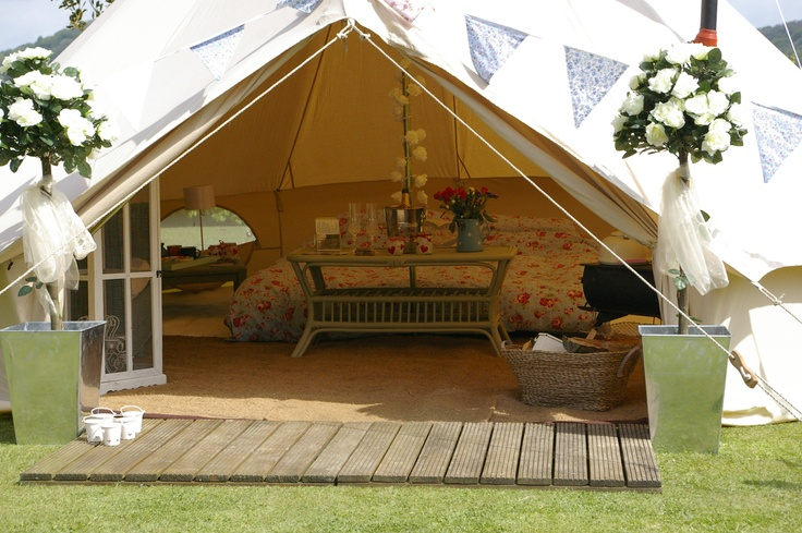 the secret bell tent company