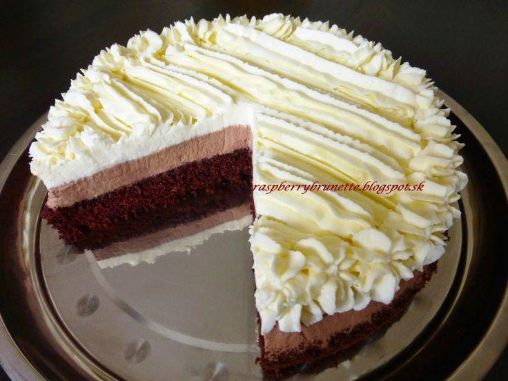 Raspberrybrunette: Torta Harlekýn