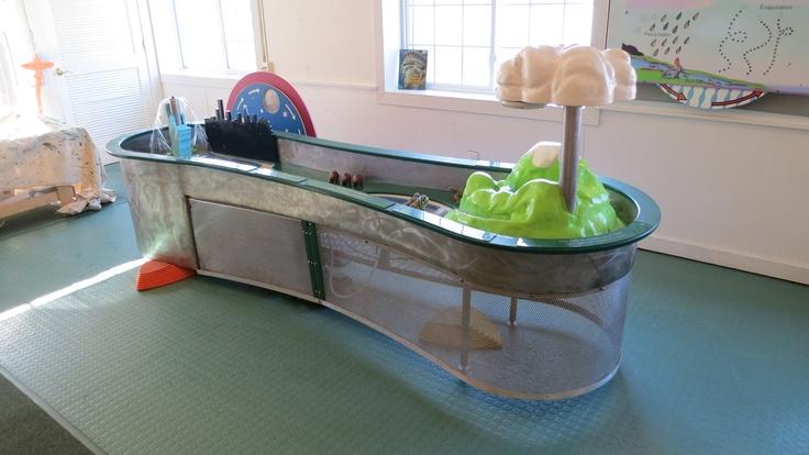 Stream table mid hudson children 39 s museum pinterest for Table cuisine 75 x 75