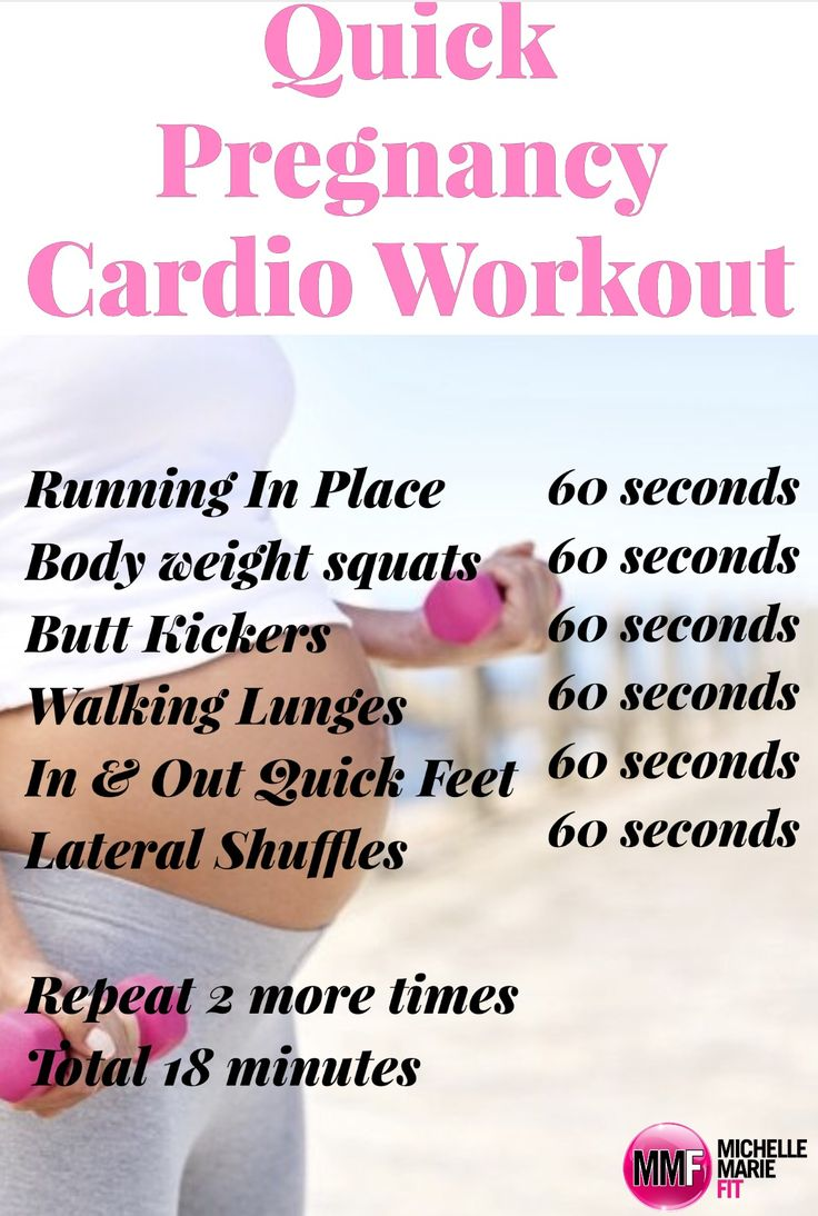 Quick pregnancy cardio workout that is safe and can be done at home. Prevent gaining a ton of weight this pregnancy with this  14 Day Pregnancy Challenge. I want to jumpstart my health and fitness this pregnancy. Im doing this. there are Pictures and workout videos included and its free!  http://michellemariefit.com/pregnancy-workout-challenge-14-day-jumpstart/