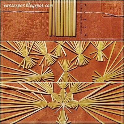Varázspor Straw Stars Vytvořeno - Velké dveře dekor