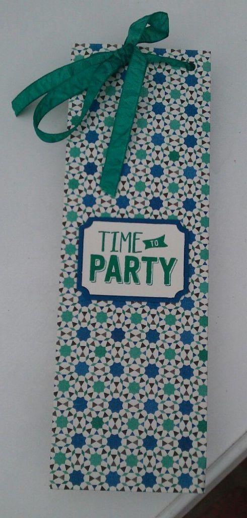 Moroccan Paper Bag - Gift Bag Punch Board - Moroccan designer series paper - Het Knutsellab - Stampin Up #stampinup #crafts #knutselen #stempelen
