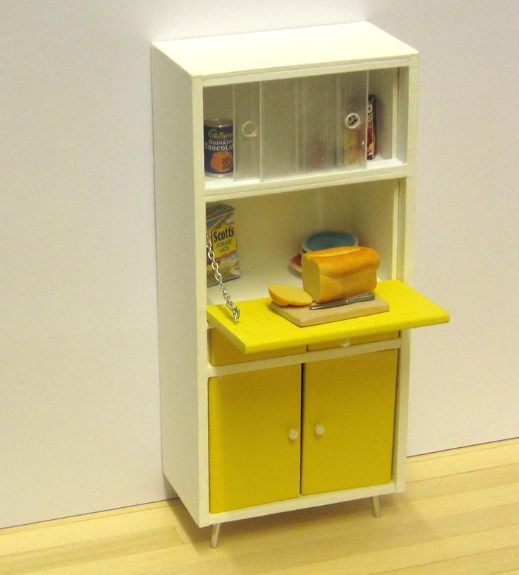 1950s Kitchen Cabinets: 157 Best Dollhouse Rock Images On Pinterest