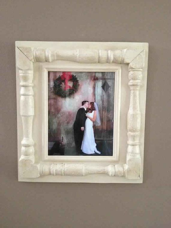 25 best ideas about handmade picture frames on pinterest for Handmade picture frame ideas