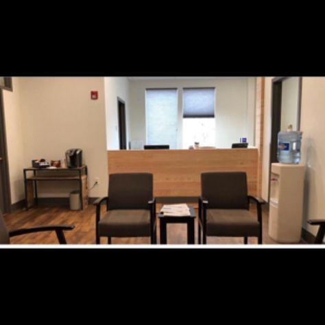 Dental Receptionist Area