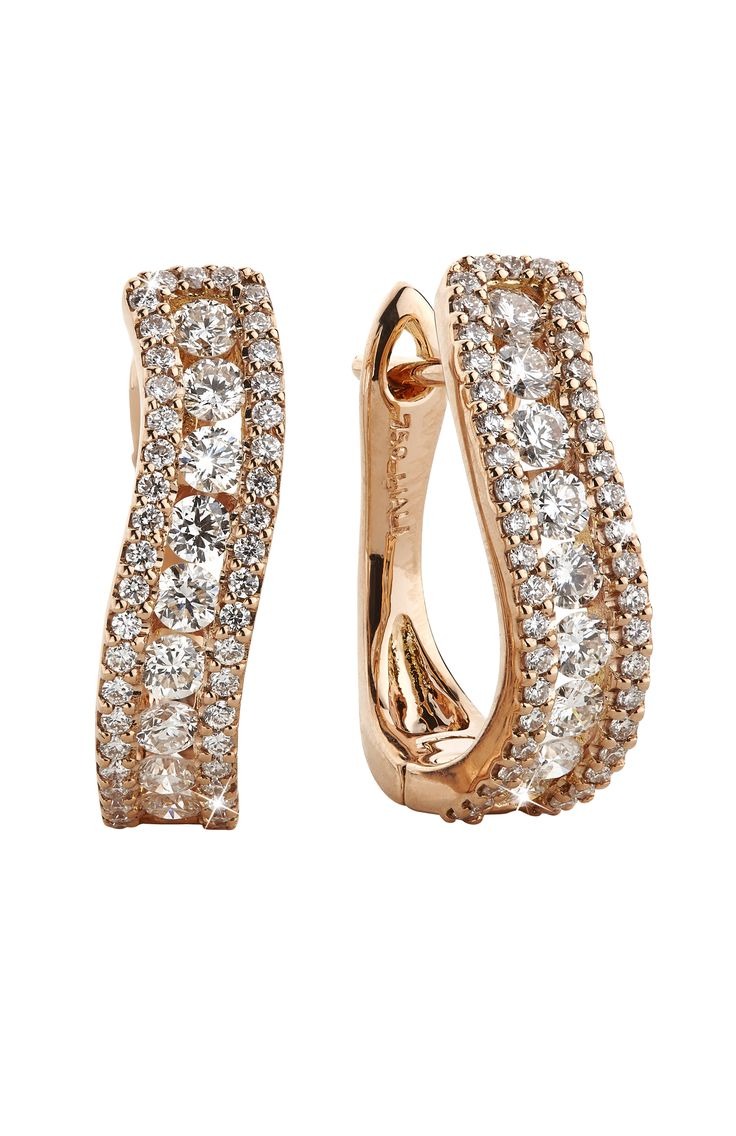 #Earrings #Diamonds #rosegold #jewellery #Anniversary #gift #LialiJewellery…
