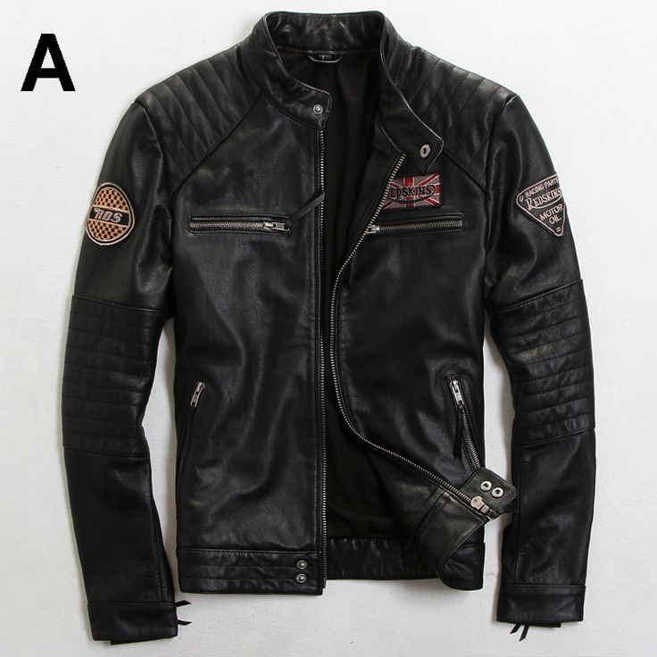 17 Best ideas about Men's Leather Jackets on Pinterest | Mens