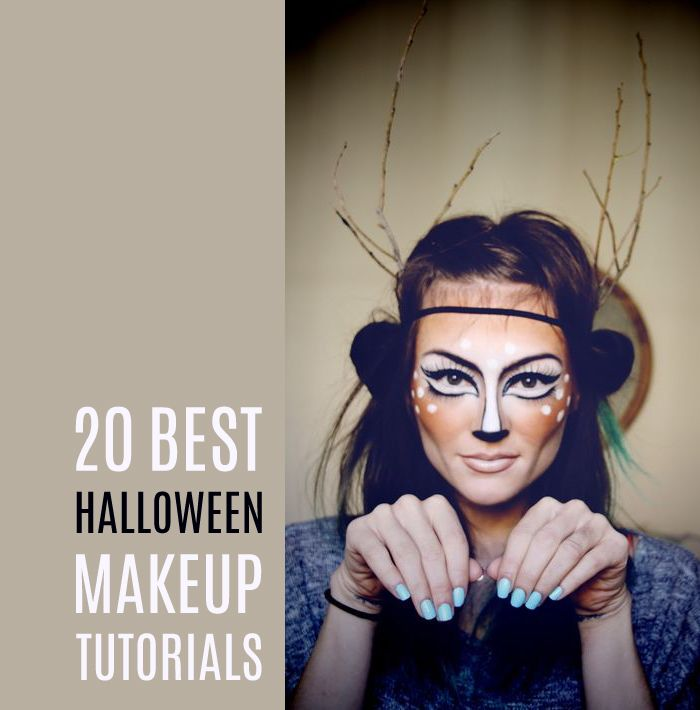 @katlin1147 Totally thought of you - these are 20 different videos of awesome halloween makeup tutorials!