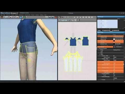 ▶ Novedge Webinar #44: 3D Clothes Modeling with Marvelous Designer - YouTube
