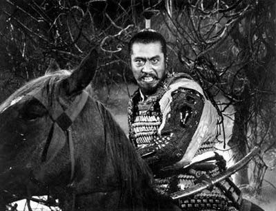 THRONE OF BLOOD  ,Kurosawa fuses one of Shakespeare's greatest tragedies with the formal elements of Japanese Noh theater to make a Macbeth that is all his own—a classic tale of ambition and duplicity set against a ghostly landscape of fog and inescapable doom. The pacing of the film is full of dynamic contrasts, going from heart-pounding action to patient silence.
