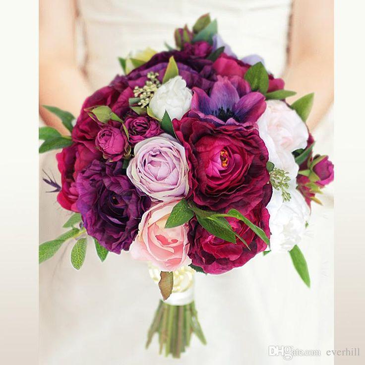 Classic Wedding Bouquets: Best 25+ Artificial Bridal Bouquets Ideas On Pinterest