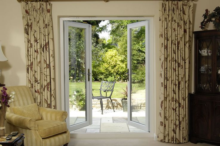 The 25 best ideas about aluminium french doors on for Double open french doors