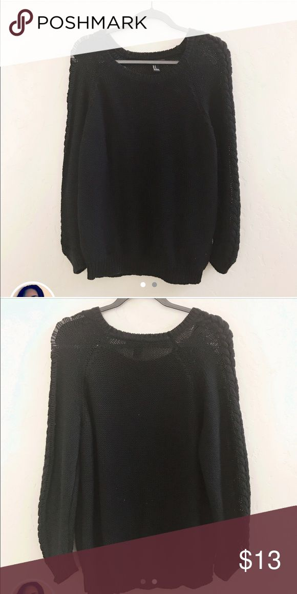 F21 Chunky Knit Sweater + F21 Chunky Knit Sweater + Size M fits S-L + Amazing quality chunky sweater perfect for upcoming fall. Will definitely become your go-to. Looser fit, soft material, and braided sleeve detail. Forever 21 Sweaters Crew & Scoop Necks