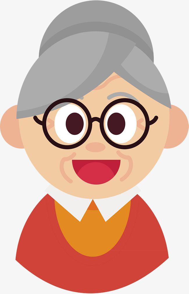 O Sorriso Da Avo Retrato Forma De Acao A Avo Imagem Png E Vetor Para Download Gratuito Free Cartoon Characters Png Vector