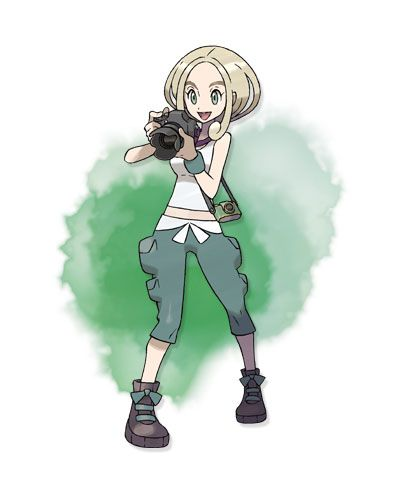 viola 1st gym leader of kalos (bug type)