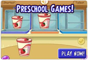 Preschool Games are one of the best ways to introduce your little one to the world of online games