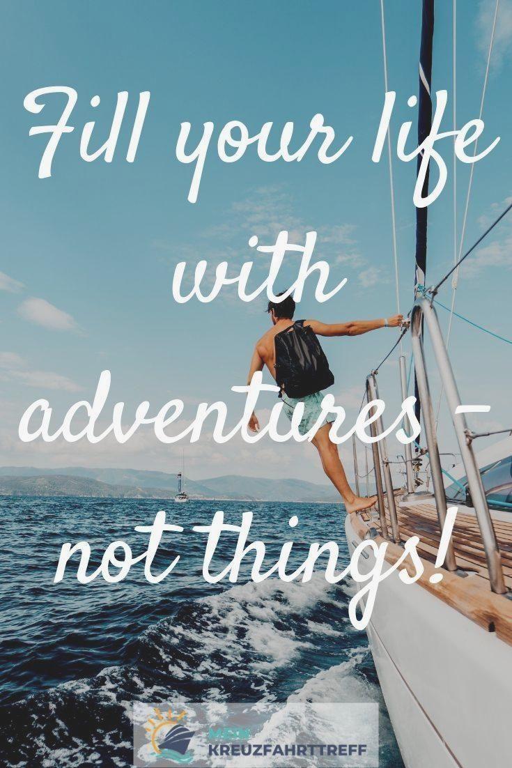 Spruch Urlaub Urlaubspruch New Adventure Quotes Inspirational Happy Birthday Quotes Adventure