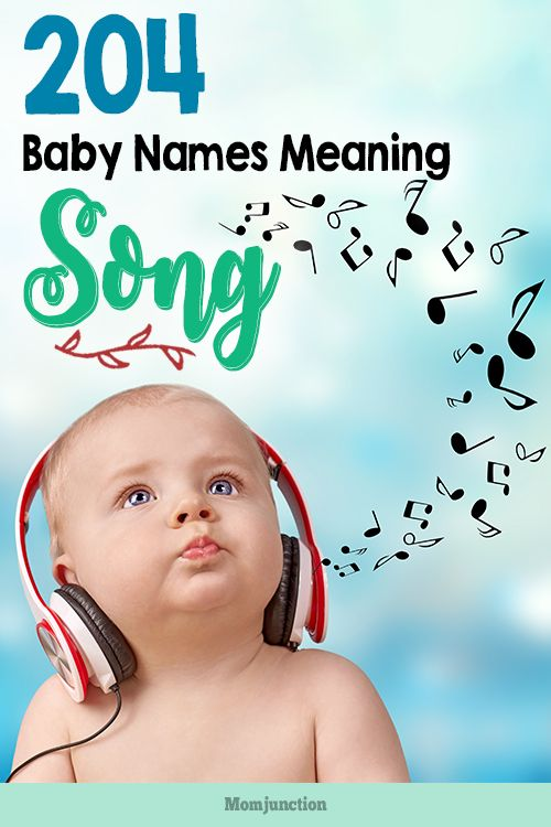 #Baby #names meaning songs are as soothing, rhythmic, lyrical, and melodious as a song itself. MomJunction has put together a list of baby names meaning song. Take a look at our options below.