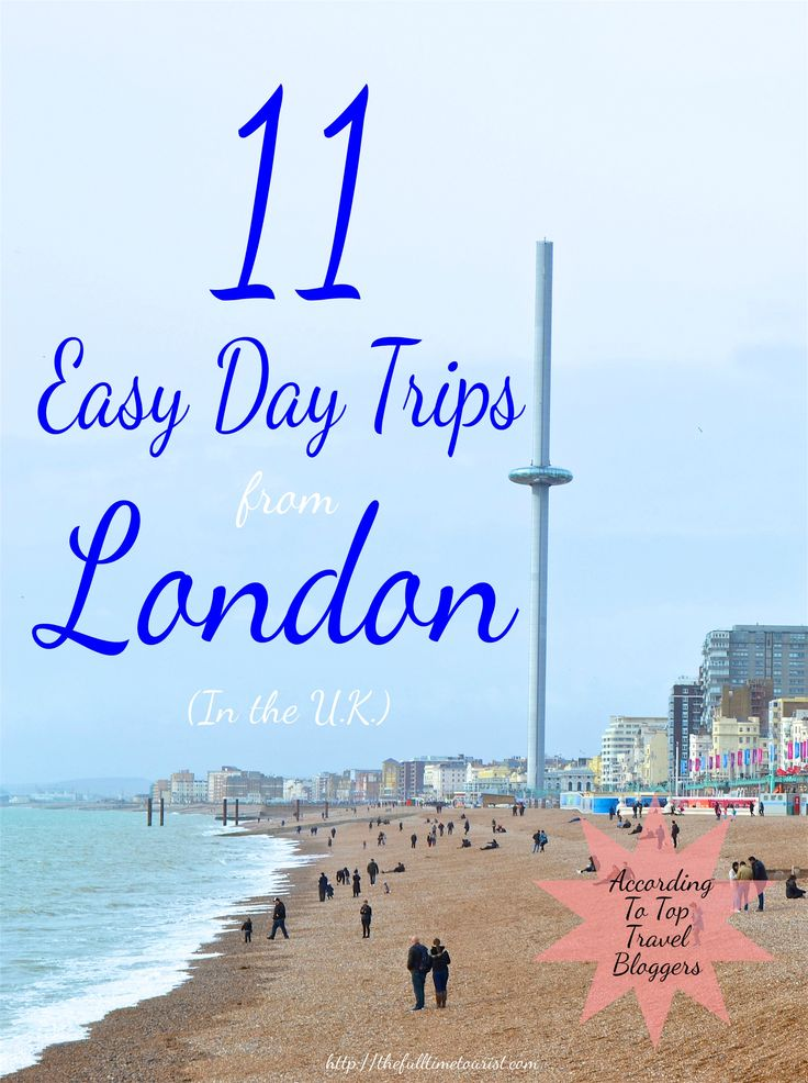 London is definitely one of the greatest cities in the world, but that doesn't mean you don't need a little break from the hustle and bustle during your trip to the U.K. Here are the 11 best day trips within the U.K. from the British capitol, according to top travel bloggers…