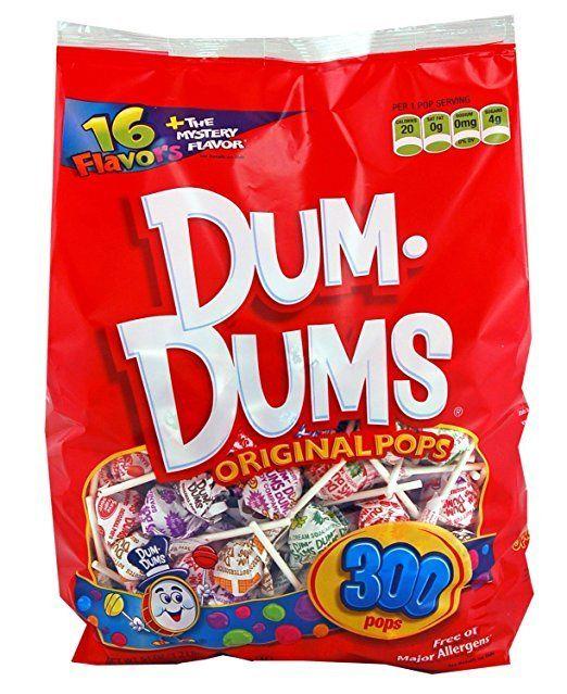 Dum Dums Lollipops (300 Count Bag) for $7.97