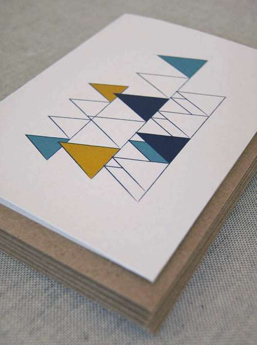 The Wooded Hills Christmas Card Collection is Contemporary #christmas #cards trendhunter.com
