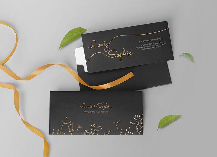 Wedding Invitation Mockup Psd Invitation Mockup Free Wedding Invitations Wedding Invitation Cards
