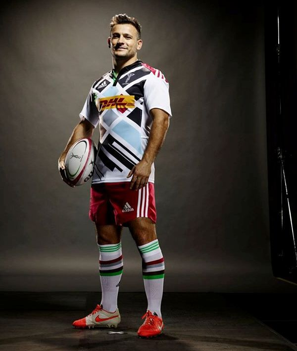 Danny Care Adidas Harlequins Away Kit  Available at Fenton Rugby Online