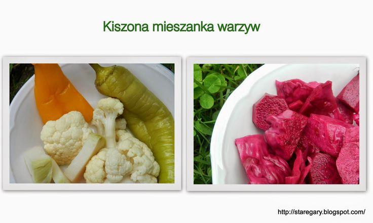 Kiszone warzywa