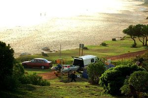 Kogel Bay Resort. Camping. Nature reserve. Near Cape Town