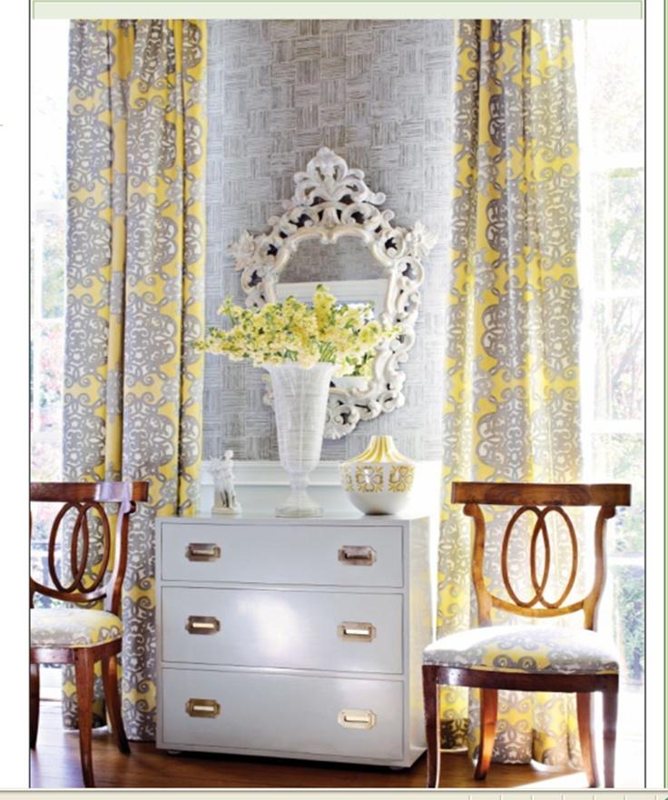 Window treatment fabric ideas
