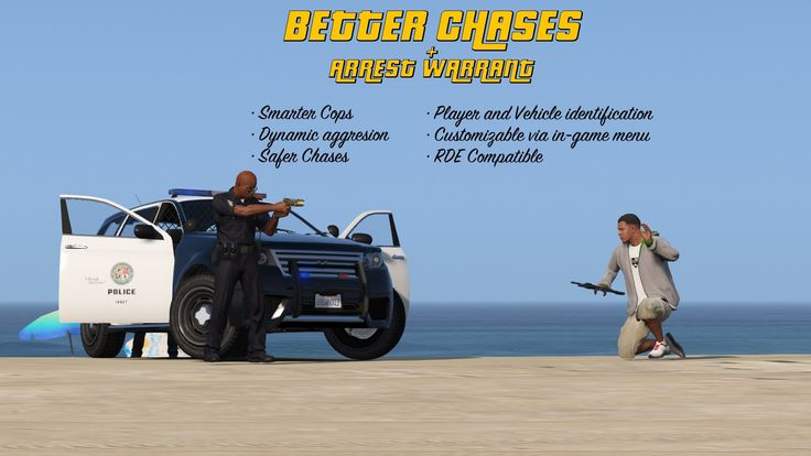 GTA V's Police Get Less Violent And More Competent (Mod)