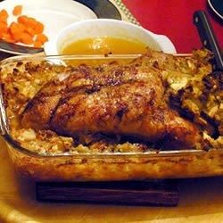 When you're in the mood for something rich and flavorful, try this wild duck rubbed with light seasoning and stuffed with apples, celery and onion.