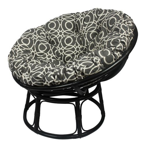 150 best papasan chairs images on pinterest papasan chair for Black papasan chair cushion