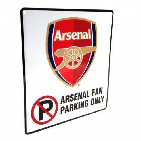 Arsenal F.C. No Parking Sign