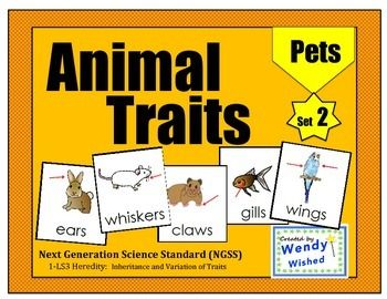 Fun center sentence scrambles using adjectives, animal traits and pets.  Great for Next Generation Science Standards.