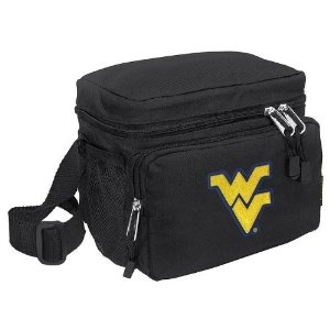 WVU Lunch Box Cooler Bag Insulated West Virginia University - Top Quality Unique Lunchbox or Sophisticated Black Travel Bag - OFFICIAL NCAA COLLEGE LOGO Merchandise (Misc.)  http://documentaries.me.uk/other.php?p=B004CUEHS0  B004CUEHS0