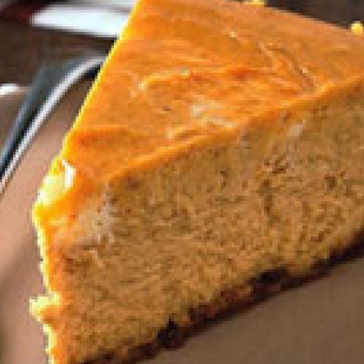 Pumpkin Swirl Cheesecake XII Recipe | Bariatric Recipes | Pinterest