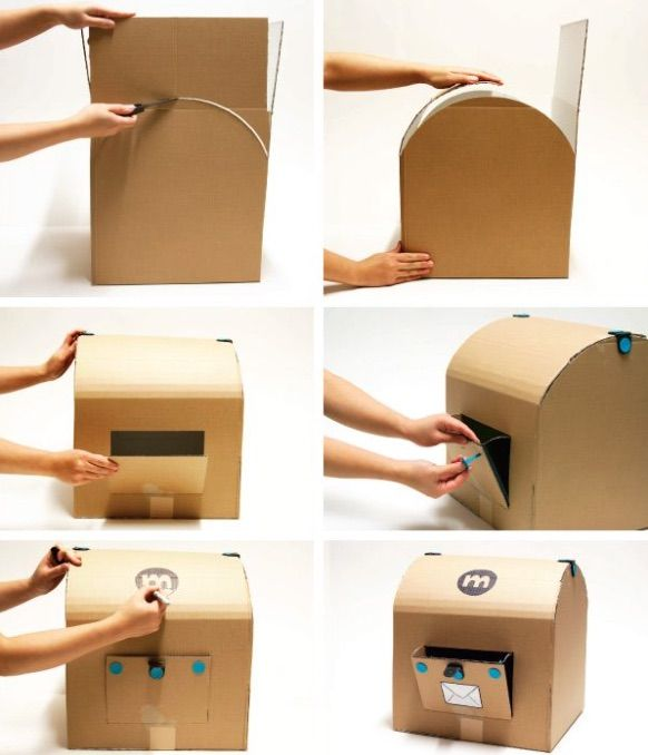 10 Awesome Ways to Repurpose Cardboard Boxes for Imaginative Play  Imaginative play is a vital part of children's development. But you could spend a small fortune on toys that can create different scenes for your children to role play in. The humble cardboard box can change this and make any set possible. We have found 10 ways to repurpose cardboard boxes for imaginative play. You'll be itching to buy some appliances to build your collection. #kids #kidsactivities #imaginativeplay #play