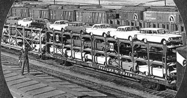 Used Cars Quad Cities >> 23 best Open Railroad Auto Rack Cars images on Pinterest | Car carrier, Autos and Cars