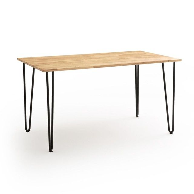 Table A Manger 4 A 6 Personnes Adza Table A Manger Noyer Table Salle A Manger Chaises De Table A Manger