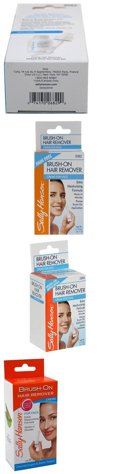 Hair Removal Creams and Sprays: Sally Hansen Brush-On Hair Remover Creme For Face 1.7 Oz (Pack Of 11) -> BUY IT NOW ONLY: $84.22 on eBay!