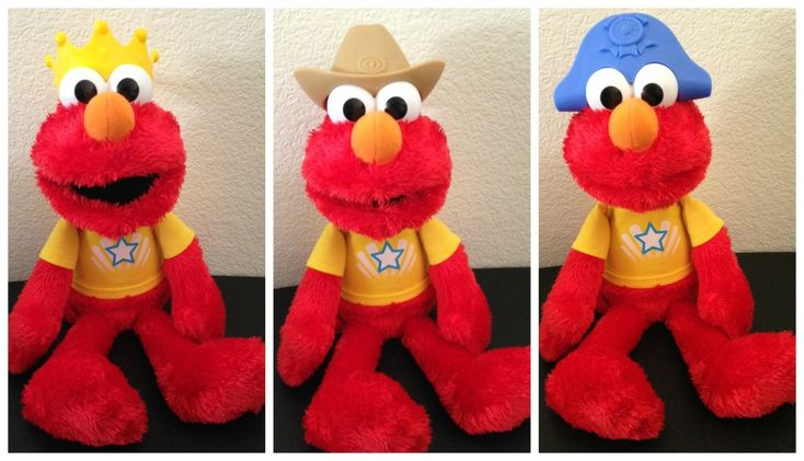 Lets Imagine Talking Elmo Doll 2014