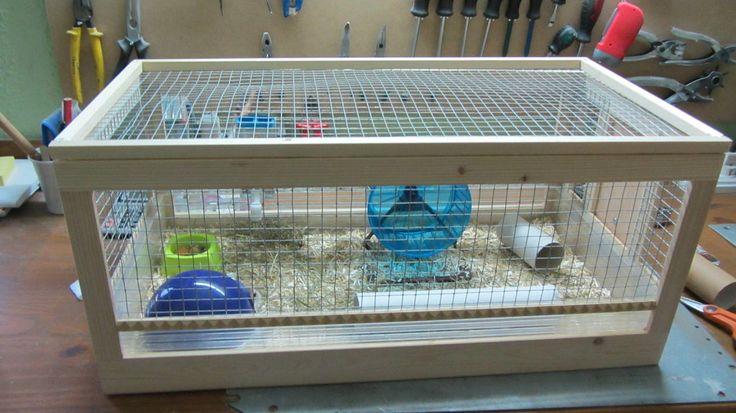 Jaula para hamster | Hacer bricolaje es facilisimo.com